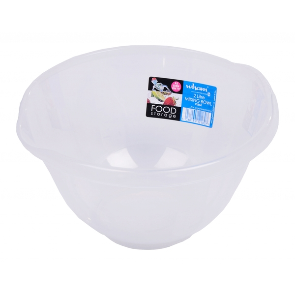 Wham Clear Mixing Bowl 2ltr
