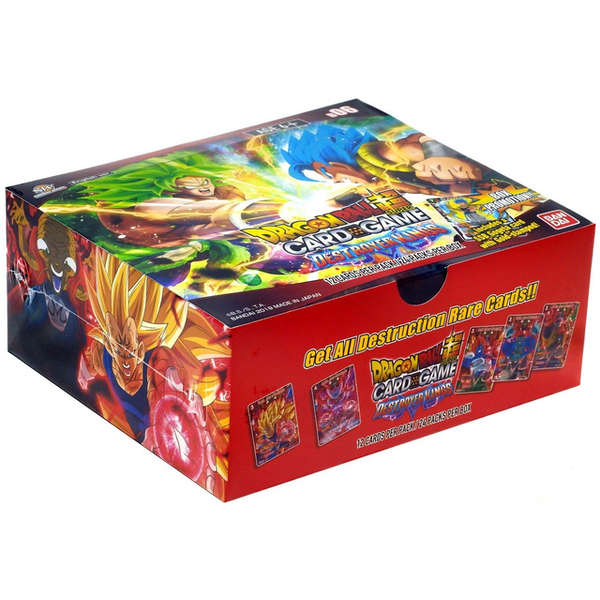 Dragon Ball Super TCG: B06 Destroyer Kings Booster Box (24 Packs)