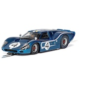 Ford GT MKIV 1967 LeMans 24Hrs Denny Hulme/Lloyd Ruby No.4 1:32 Scalextric Car