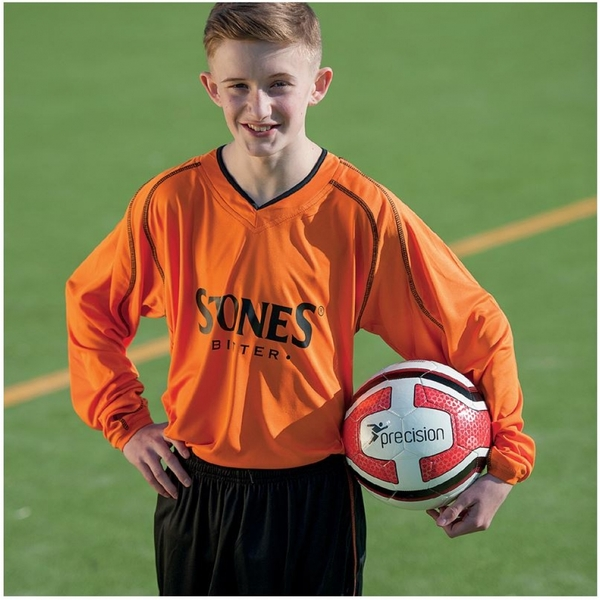 Precision Marseille Shirt & Short Set 26-28 Tangerine/Black