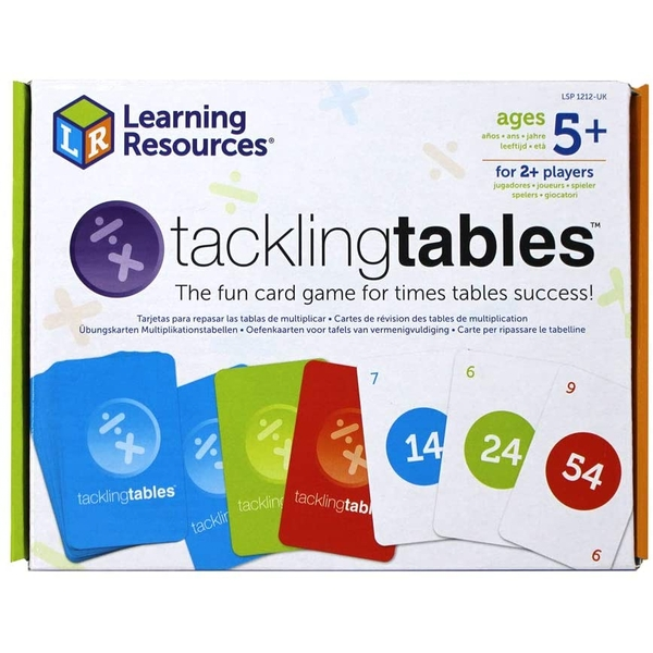 Learning Resources Tackling Tables Student Set