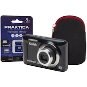 Kodak PIXPRO FZ53 Black Camera Kit inc 8GB SD Card and Case