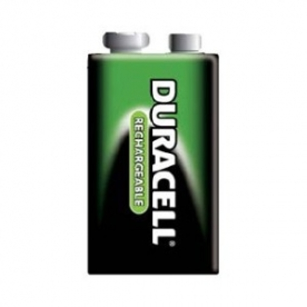 Duracell Rechargeable 9V 1 Pack Batteries - Image 2