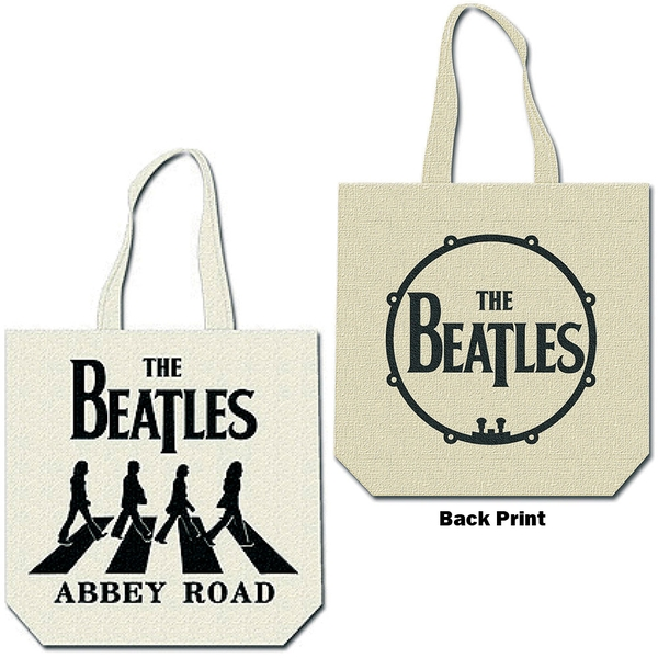 The Beatles - Abbey Road Cotton Tote Bag