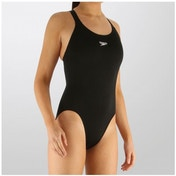Speedo Girls End  Medalist 1 PC Suit Black 32 inch (14yrs)