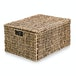 Seagrass Storage Basket with Lid | M&W - Image 3