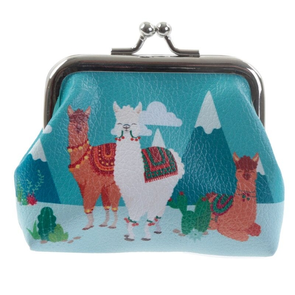 Alpaca Tic Tac Change Purse