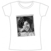 One Direction Solo Harry Skinny White TS X Large
