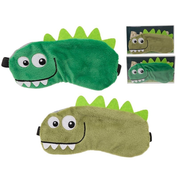 Plush Dinosaur Eye Mask (1 Random Supplied)