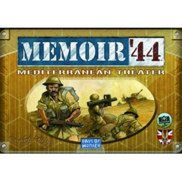 Memoir '44 Mediterranean Theatre Board Game