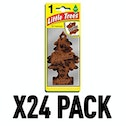 Leather (Pack Of 24) Little Trees Air Freshener