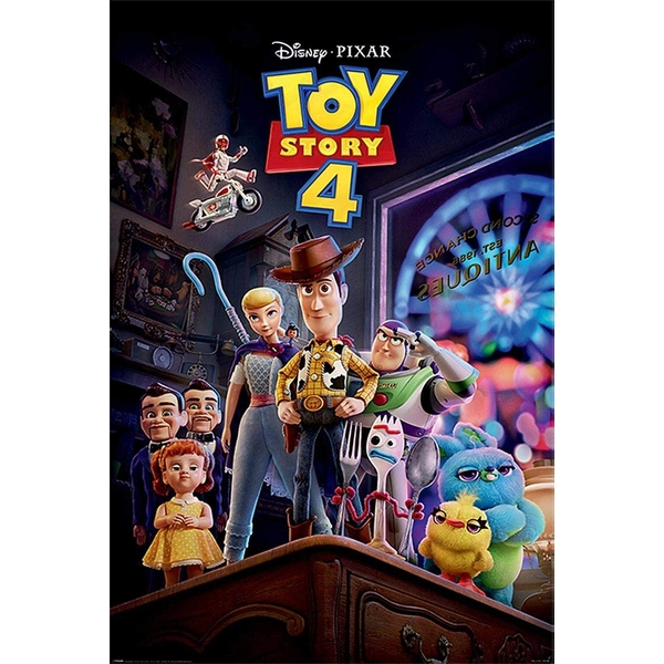 Toy Story 4 - Antique Maxi Poster