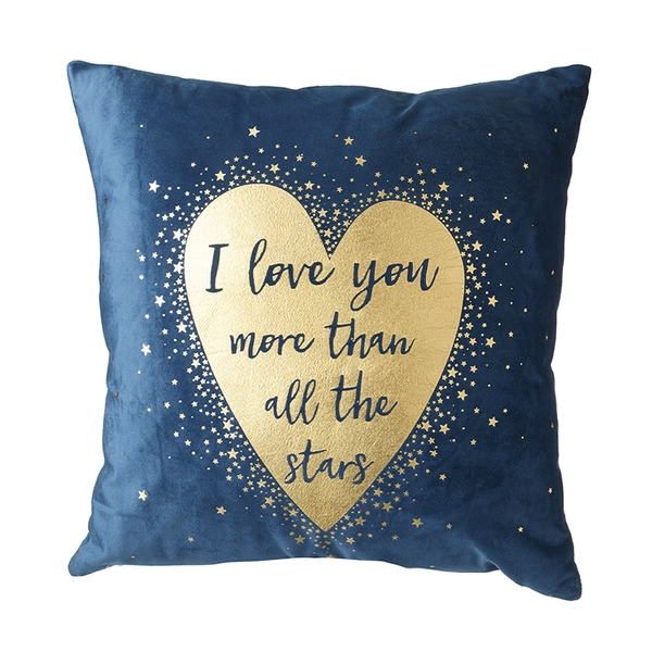 I Love You More Than Stars Cushion By Heaven Sends