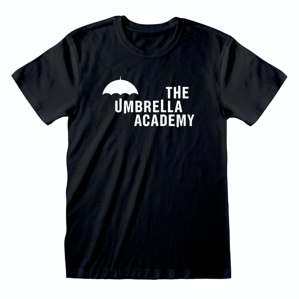 Umbrella Academy - Logo Unisex Small T-Shirt - Black