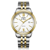 Rotary GB90195/01 Quartz Tradition Gents Bracelet PVD Two Tone Gold Watch