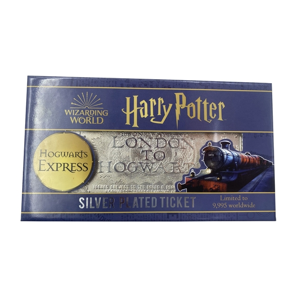 Harry Potter Hogwarts Express - Silver Plated Ticket