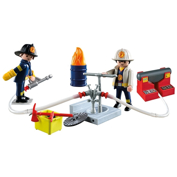 Playmobil Fire Rescue Carry Case - Image 2