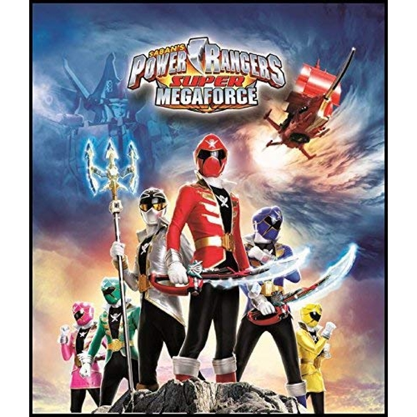 Power Rangers Super Megaforce - Volume 3: Legendary Battle DVD
