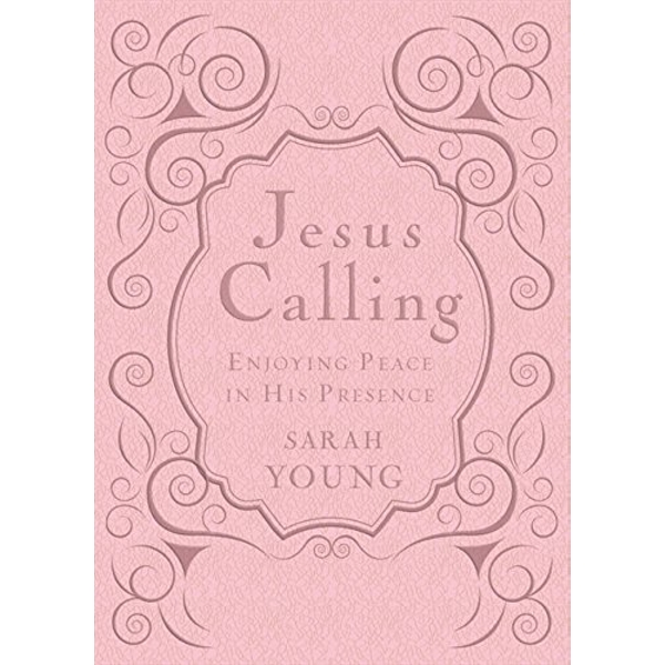 Jesus Calling - Deluxe Edition Pink Cover : Enjoying Peace in His Presence