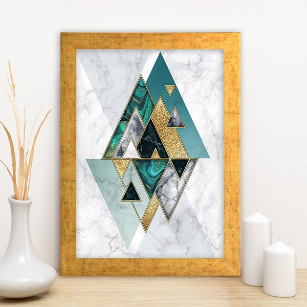 AC1532075891 Multicolor Decorative Framed MDF Painting