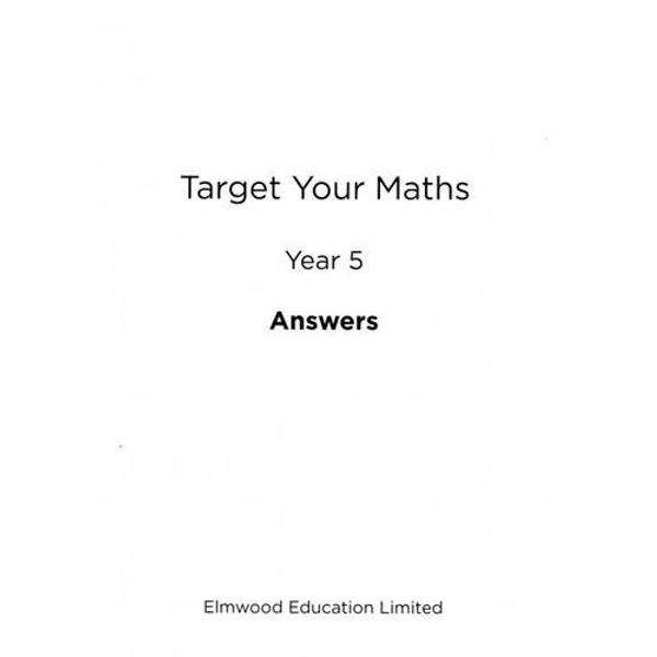 Target Your Maths Year 5 Answer Book: Year 5 by Stephen Pearce (Paperback, 2014)