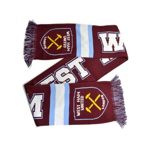 West Ham Breakaway Jacquard Knit Scarf