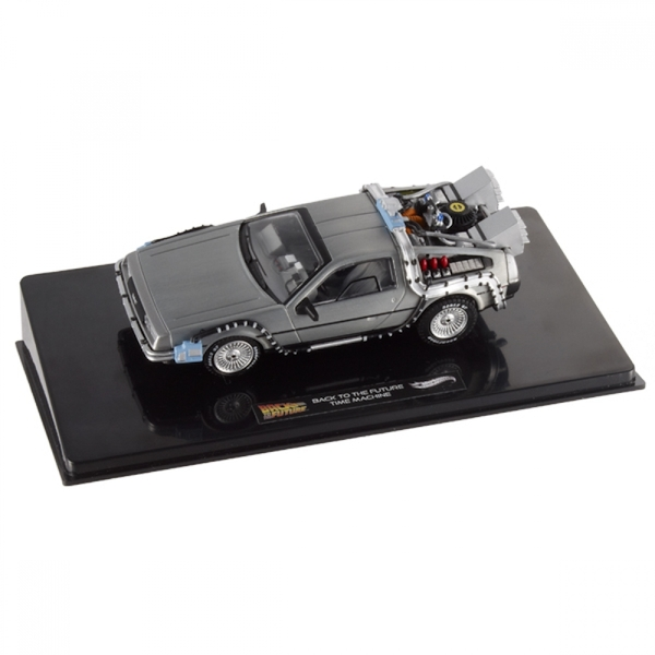 Hot Wheels 1:18 DeLorean Time Machine with Mr Fusion Diecast - Image 5