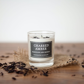 Charred Amber (Pastel Collection) Votive Candle