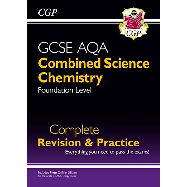 New 9-1 GCSE Combined Science: Chemistry AQA Foundation Complete Revision & Practice with Online Edn  Paperback / softback 2018