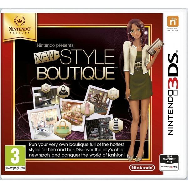 Nintendo Presents New Style Boutique Game 3DS (Selects)
