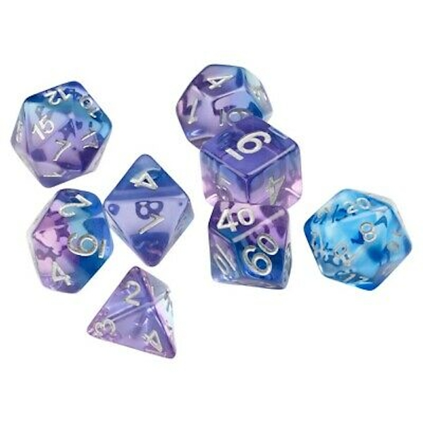 Sirius Dice Violet Betta Poly Dice Set - Sirius Dice