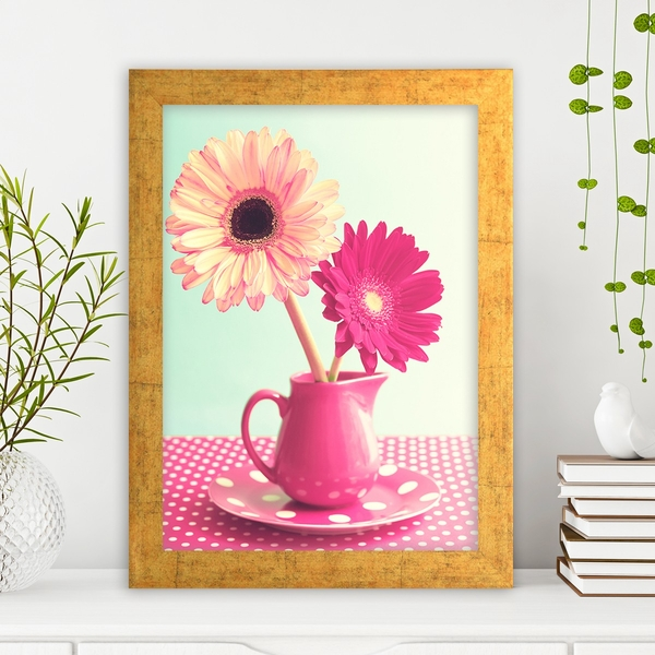 AC143320300 Multicolor Decorative Framed MDF Painting