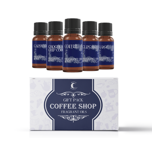 Mystic Moments Coffee Shop Fragrant Oils Gift Starter Pack