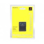 Official Sony 8MB Memory Card in Black PS2