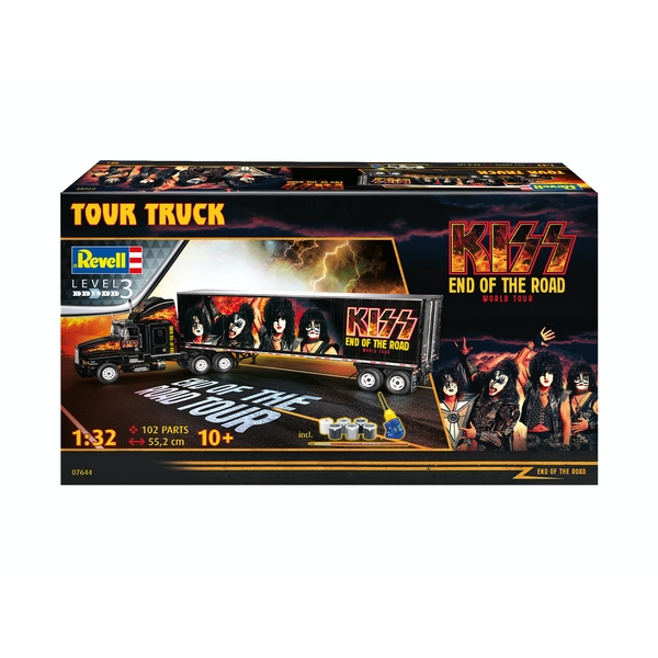 KISS Tour Truck 1:32 Scale Level 3 Revell Model Kit
