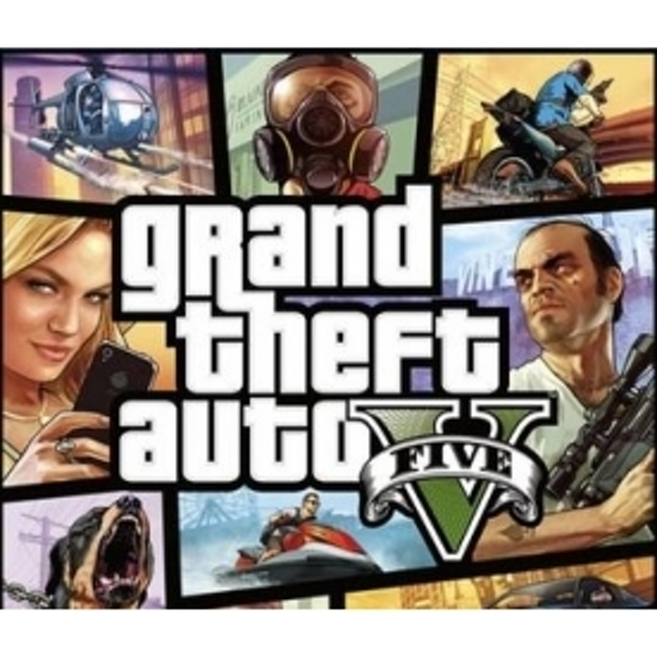 Grand Theft Auto GTA V (Five 5) with $1m currency bonus PC CD Key Download for RGSC - Image 2