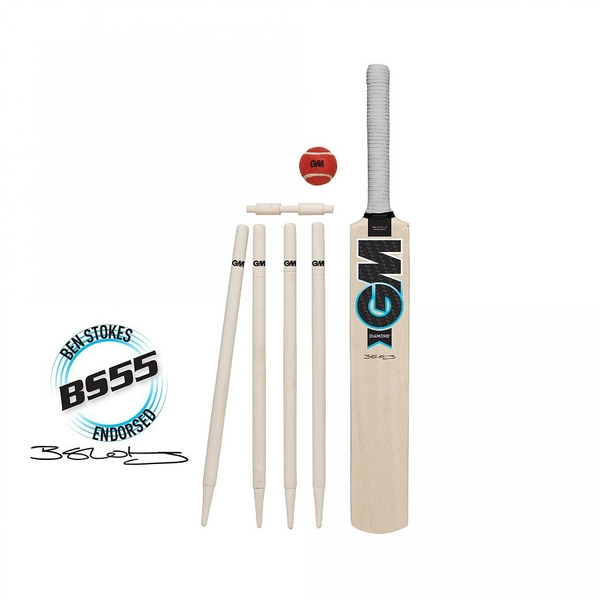 GM Diamond Cricket Set- Bat Size 3