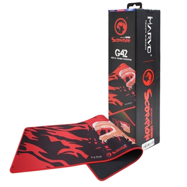 Marvo G42 XL Gaming Red Mouse Surface