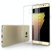 YouSave Accessories Samsung Galaxy Note 7 Ultra Thin Gel Case - Clear