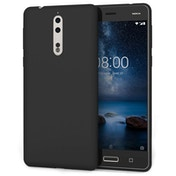 Nokia 8 Ultra Thin Gel Case - Matte Black