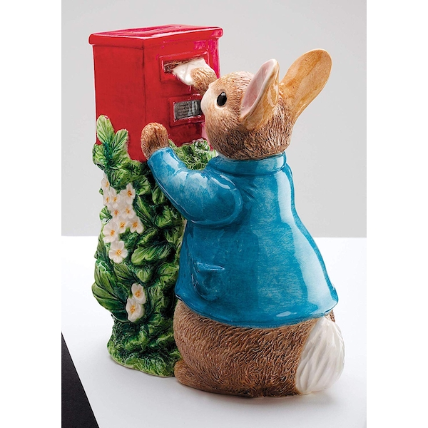 Peter Rabbit Posting a Letter Money Bank