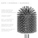 Soft Head Toilet Brush | M&W - Image 3