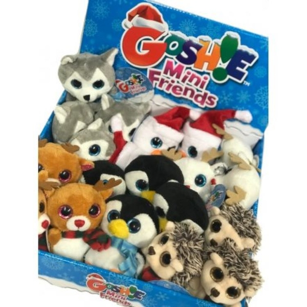 Christmas Eve Character Soft Toys (1 Random Supplied)