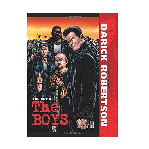 The Art of The Boys The Complete Covers Hardcover