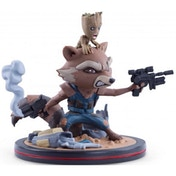 Rocket & Groot Q-Fig (Guardians of the Galaxy Vol. 2) QMX 4.62 Inch Figure