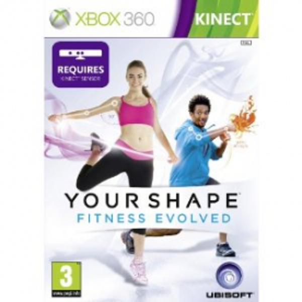 Kinect Your Shape Fitness Evolved Game Xbox 360