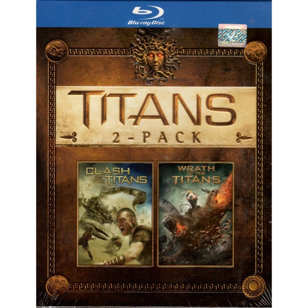 Clash of the Titans / Wrath of the Titans Double Pack Blu-ray