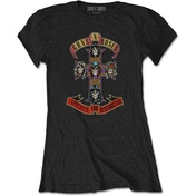 Guns N' Roses - Appetite for Destruction Women's X-Large T-Shirt - Black