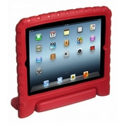 Kidprotek 2-in-1 iPad Chunky Case & Stand in Red