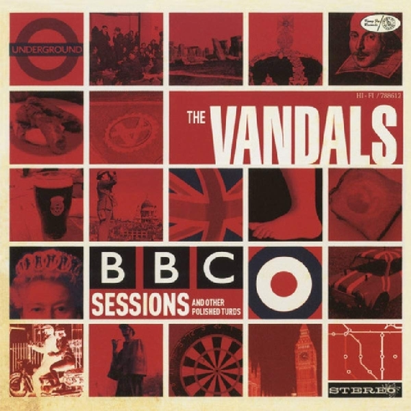 Vandals - BBC Sessions And Other Polished Turds Red  Vinyl